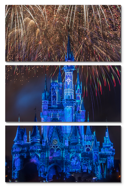 Happily Ever After 16 - Disney Triptych Art