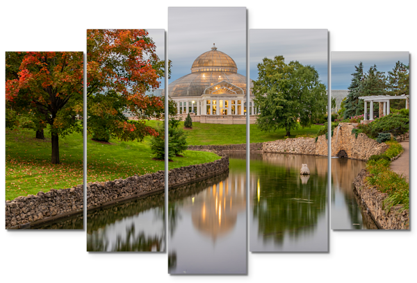 Conservatory Fall - Minnesota Panel Art | William Drew Photography