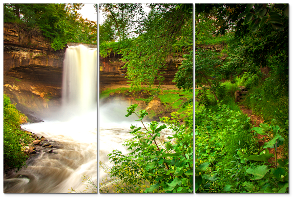 Pictures of Waterfalls 2 - Scenic Panel Art | William Drew Photography