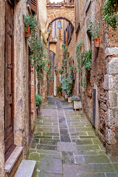 Medieval Hilltop Village Photograph: Shop Prints | Louis Cantillo Art