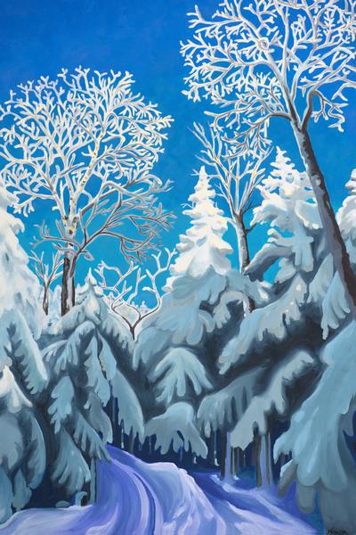 Bolton Valley Art for Sale by Natasha Bogar