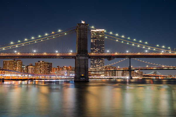 Bridges Across The East River Photography Art by David N. Braun Photography