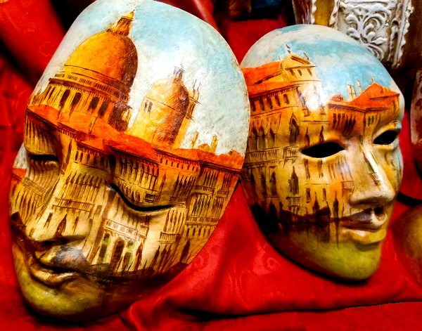 Masks Of Venice Photography Art | Craig Primas Photography