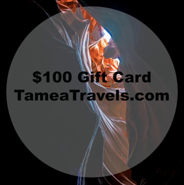 $100 Gift Card | Tamea Travels