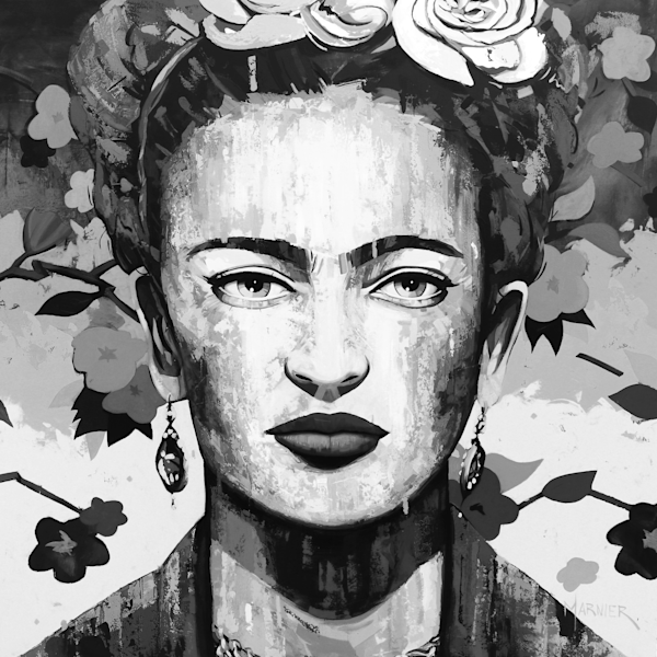 art, painting, Frida Kahlo, great woman, artist, marnier