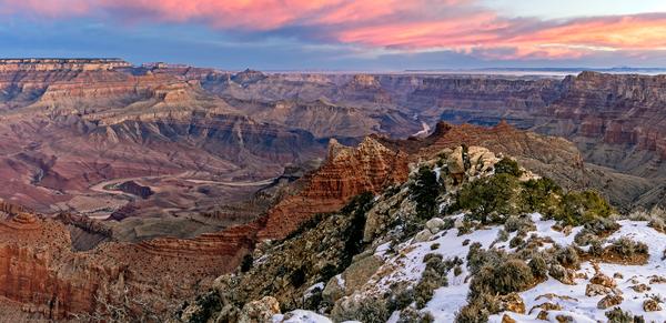 Art Print South Rim Grand Canyon Arizona Lipan Point