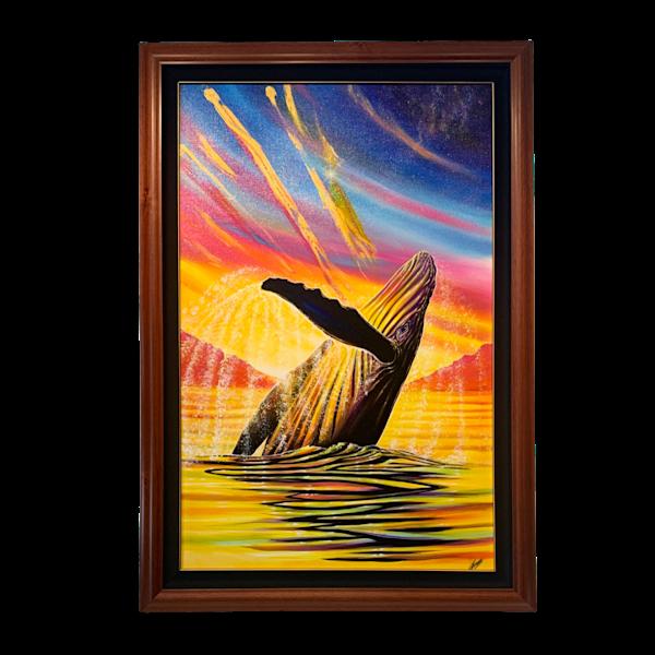 Rainbow Breach Art | evoartmaui