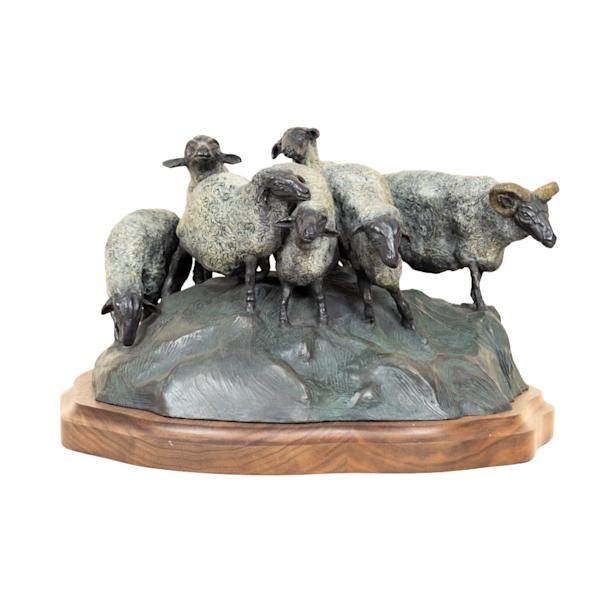 Lahaina Art Gallery features mystical sculptures by Artist Lance Glasser