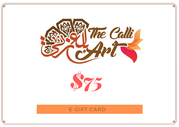 $75 | thecalliart