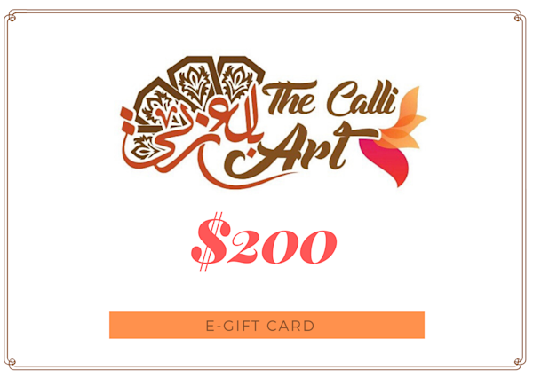$200 | thecalliart