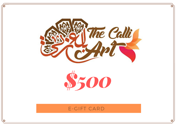 $500 | thecalliart