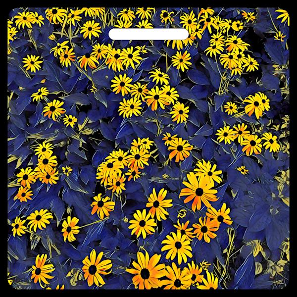 Bright Eyed Black Eyed Susans- Bag Tag