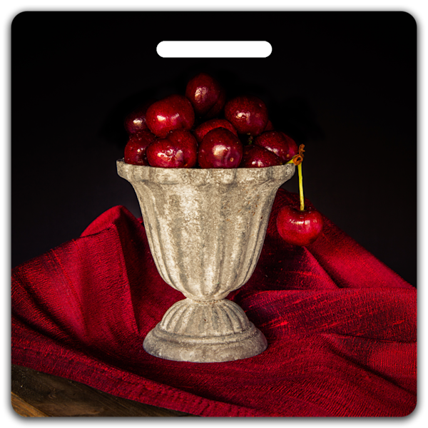 Cherry Chalice- Bag Tag