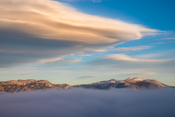 Above and Below the Clouds | Lake Tahoe Landscape Photography I David N. Braun | Lake Tahoe Basin | Emerald Bay