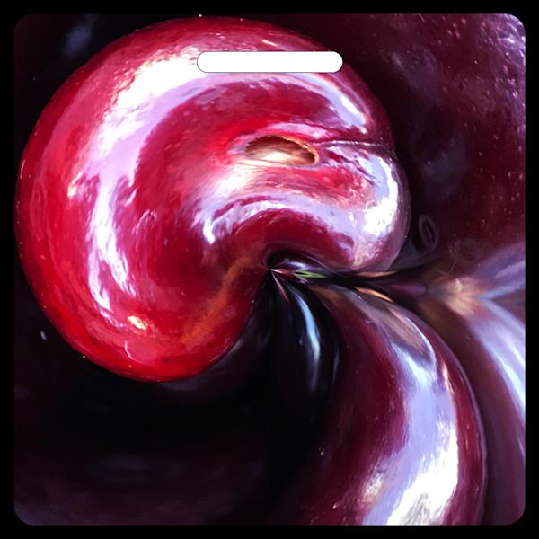Molten Cherry- Bag Tag