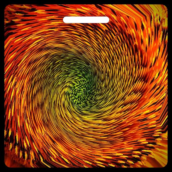 Sunflower Swirl- Bag Tag