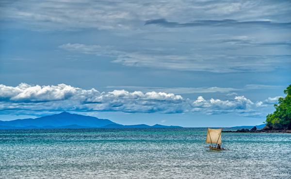 Heading out to sea, Nosy Sakatia, Madagascar