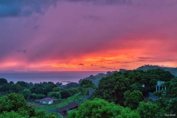 Sunset from Nosy Be, Madagascar