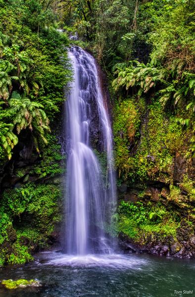 Sacred Waterfall, Amber Mountain
