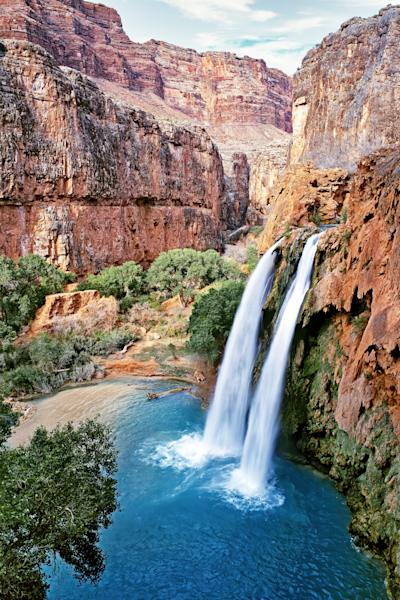 Art Print Havasu Canyon Havasupai Arizona Havasu Falls