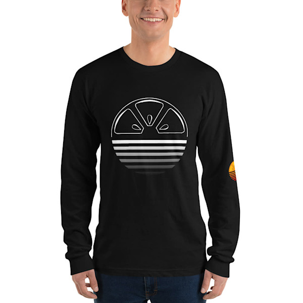 Black Longsleeve | Alex Ranniello Art