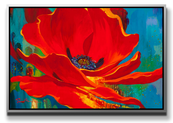 Skies Of Blue, Red Poppies Too [SOLD]