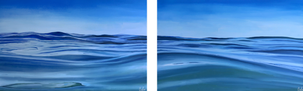 Fifty Shades Of Blue | Candace Ceslow Art