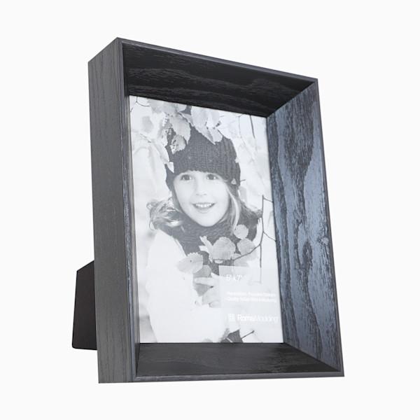 Roma Photo Frame | 5x7 Black Arber II