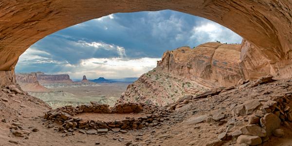 Art Print Island in the Sky Canyonlands Utah