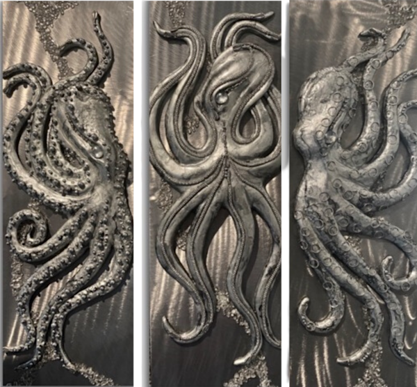 Maui Art Gallery features relief sculptures by Artist Lisa Herr