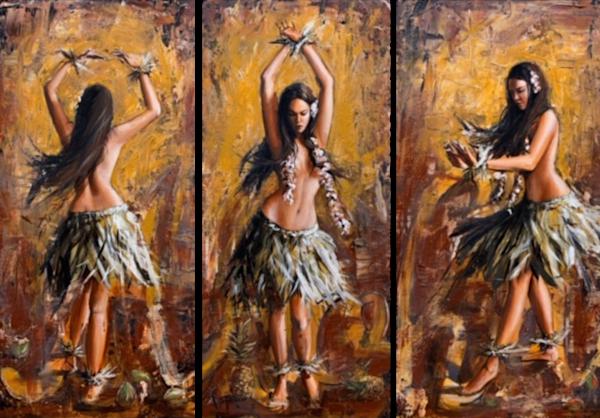 Hula Triptych