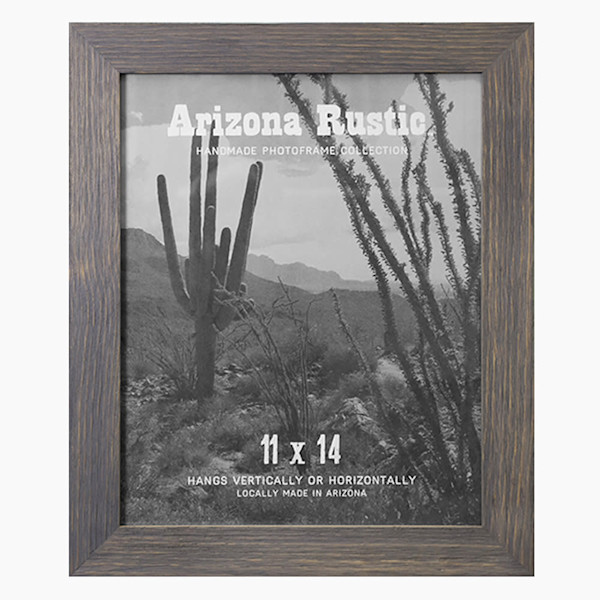 11x14 Classic Gray Arizona Rustic Wall Frame | Hall of Frames