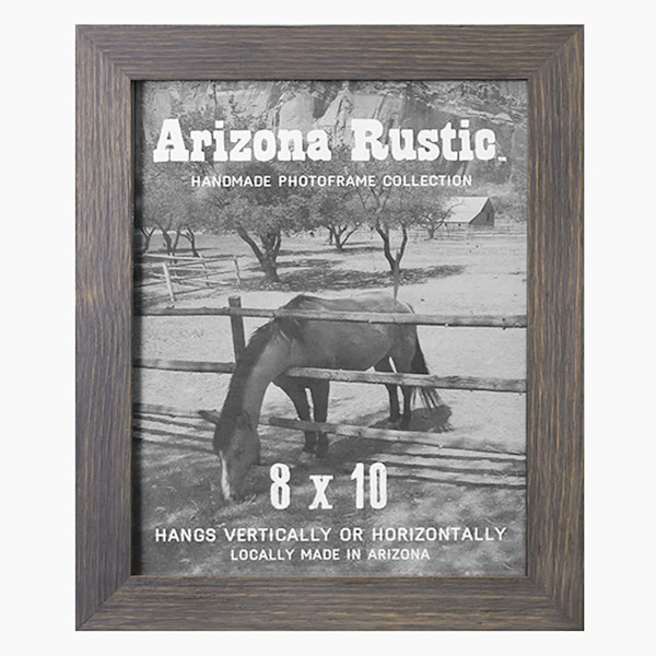 8x10 Classic Gray Arizona Rustic Wall Frame