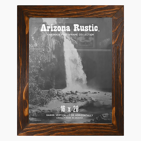 16x20 Red Chestnut Arizona Rustic Wall Frame