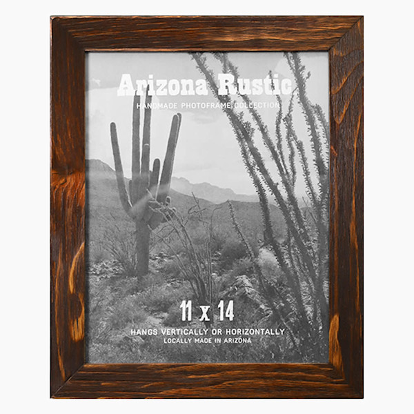 11x14 Red Chestnut Arizona Rustic Wall Frame