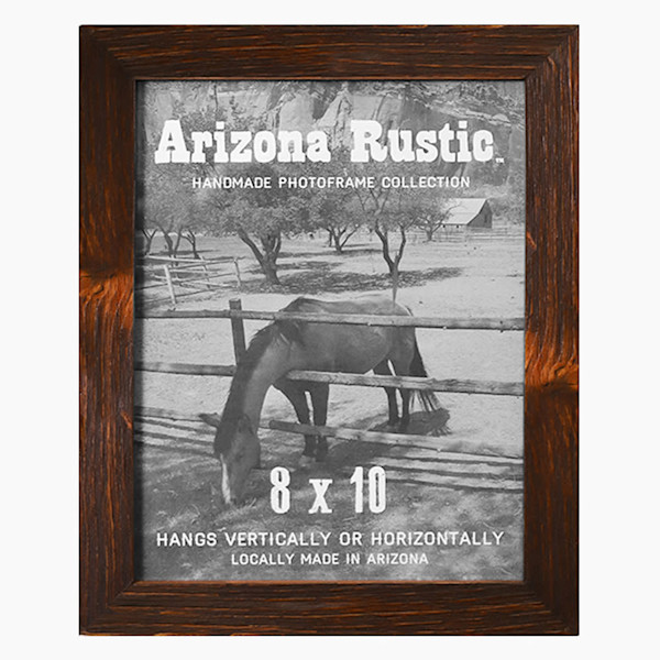 8x10 Red Chestnut Arizona Rustic Wall Frame | Hall of Frames