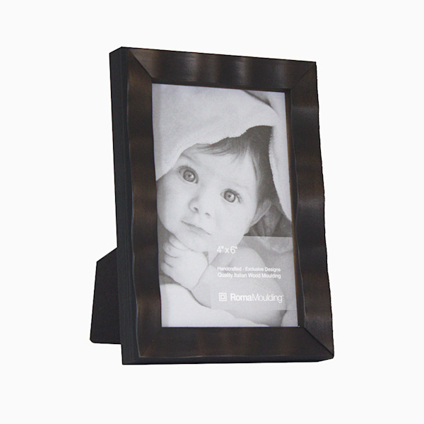 Roma Photo Frame | 4x6 Dark Cocoa Arber