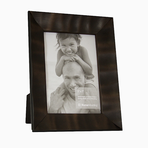 Roma Photo Frame | 5x7 Dark Cocoa Arber