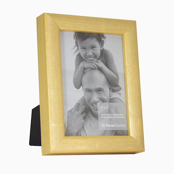 Roma Photo Frame | 5x7 Gold Vintage