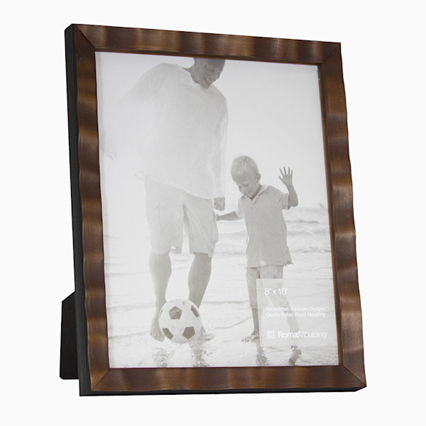 Roma Photo Frame | Saddle Brown Arber