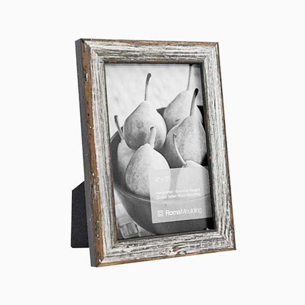 Roma Photo Frame | 4x6 Antique Silver