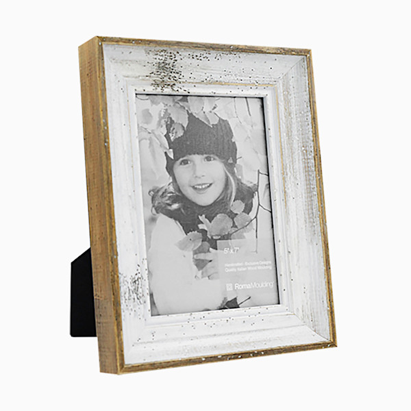 Roma Photo Frame | 5x7 Rustic White