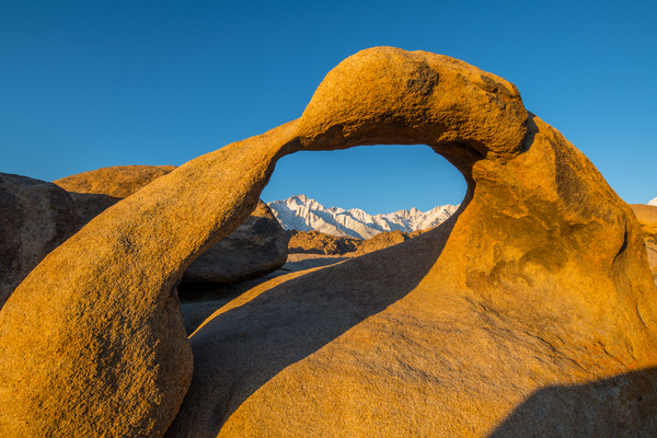 Mobius Arch Blue Sky Photography Art | Craig Primas Photography