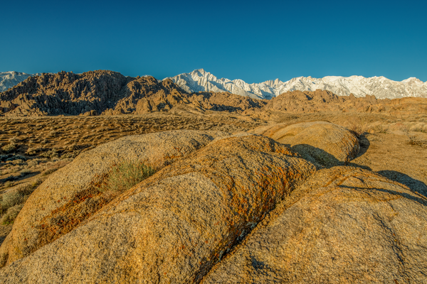 Alabama Hills Perspective Horizontal Photography Art | Craig Primas Photography