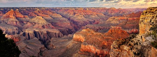 Art Print South Rim Grand Canyon Arizona Hopi Point