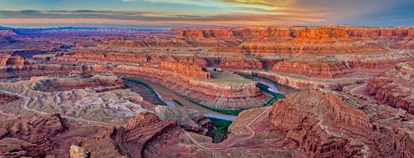 Art Print Dead Horse Point State Park Moab Utah Colorado River