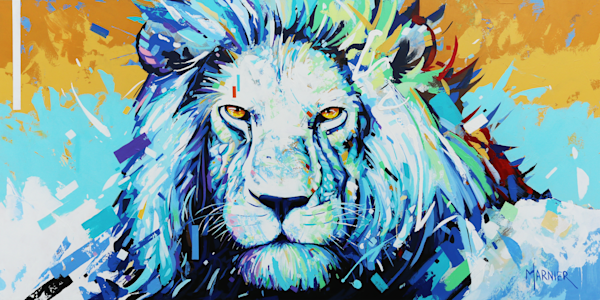 King Leo, lion King, marnier, art, prints