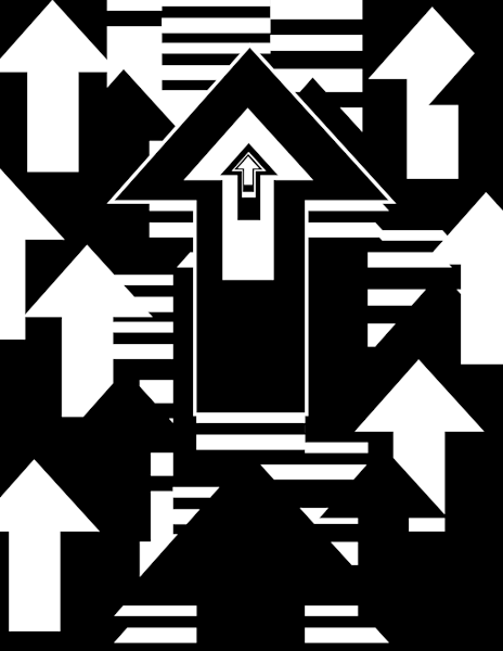 Up Arrow Art | kihlstromfineart