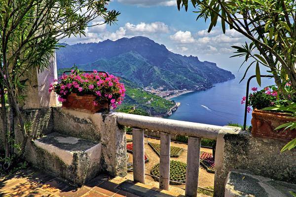 Art Print Ravello Amalfi Coast Italy