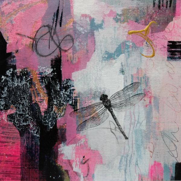 Dragonfly Charm Art | Susanne Clark